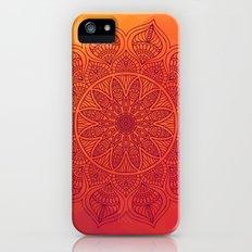 Sun Mandala iPhone SE Slim Case