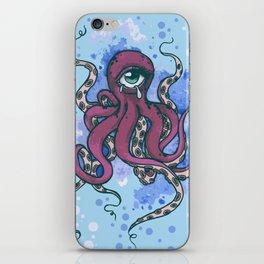 One-eyed Octopus iPhone Skin