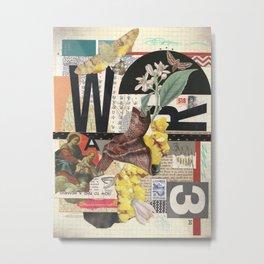 W3 Metal Print