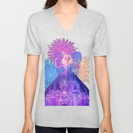 As Dreamers Do Unisex V-Neck