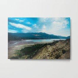 Lakeside. Metal Print
