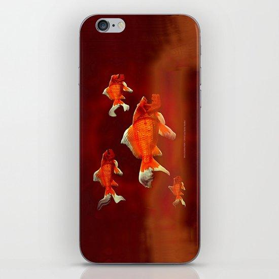 SKU-OLDEN FISH 037 iPhone Skin