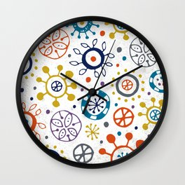 Doodle Organic Wall Clock