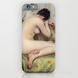 A Modern Magdalen by William Merritt Chase iPhone Case