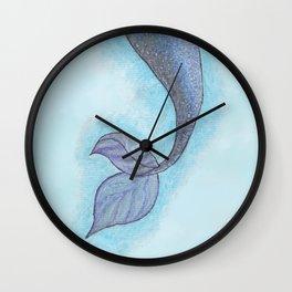 Clara's Tail Wall Clock