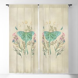 Luna and Forester - Oriental Vintage Blackout Curtain