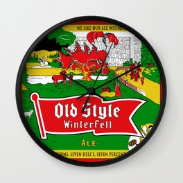 Old Style Northern Ale Wall Clock