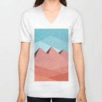 egypt V-neck T-shirts featuring Egypt by Imagonarium