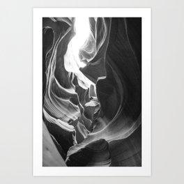 ANTELOPE CANYON XXVI / Arizona Art Print