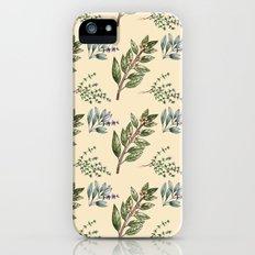 Herb Pattern Slim Case iPhone (5, 5s)