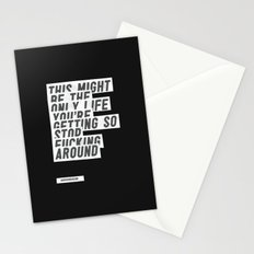 F*****G AROUND Stationery Cards