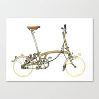 brompton Canvas Prints featuring Brompton by Zeroack