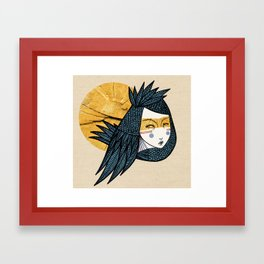 Indian bird Framed Art Print