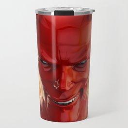 The devil Travel Mug
