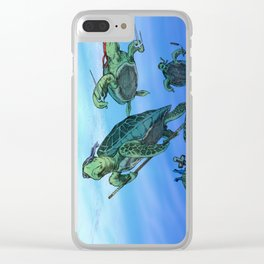 Ninja Turtles Clear iPhone Case