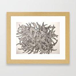 Twisting 2 Framed Art Print