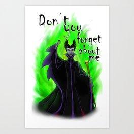 Final Maleficent Art Print
