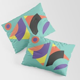 Geometric Memphis - Modern Memphis Milano tropical minimal tribal african geo summer scandinavian Pillow Sham