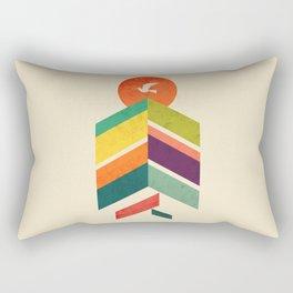 Lingering Mountains Rectangular Pillow