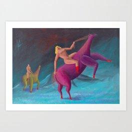 horsepower 2 Art Print