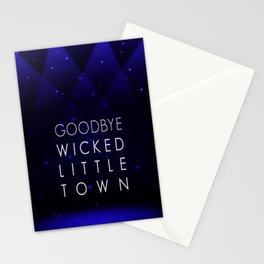 Goodbye, Wicked Little Town Stationery Cards