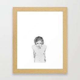 thecigarettegirl Framed Art Print