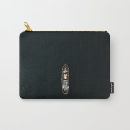 Iceland Ship from Above - Ocean Photography Carry-All Pouch