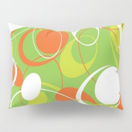Mid Century Modern, Vintage Pattern Pillow Sham