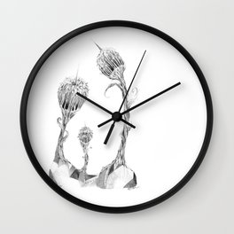 Blooming Waterbombs (part of the Strange Plants series) Wall Clock