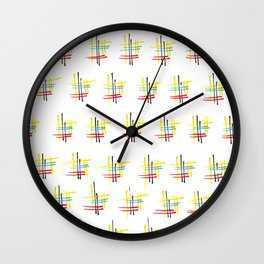 Memories of a kitchentable Wall Clock