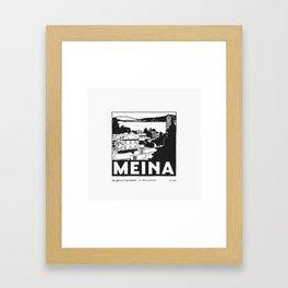 Meina Framed Art Print