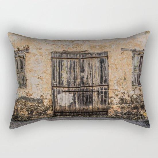 Old House Rectangular Pillow