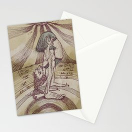 The Contortionist Stationery Cards