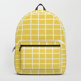 Squares of Yellow Backpack