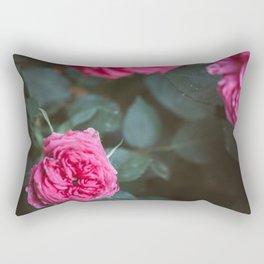 Roses blossom Rectangular Pillow