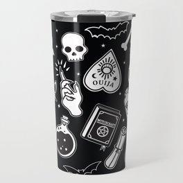 Witchy Essence Black Travel Mug