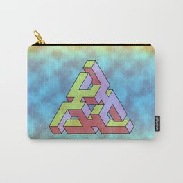 Triforce Abstract Triangle Carry-All Pouch