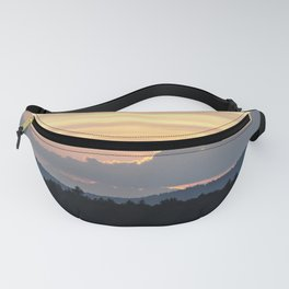 a simple sunset Fanny Pack