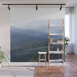 Fading Light Pacific Northwest Wall Mural