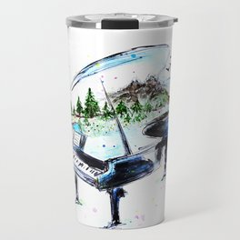 Piano with nature Travel Mug