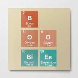 BOOBiEs Metal Print