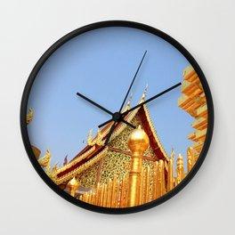 Golden Temple Wall Clock