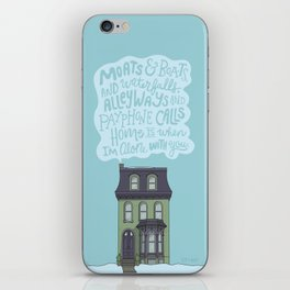 Home Is With You iPhone Skin