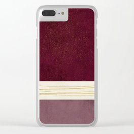 Phi Alpha 3 Clear iPhone Case