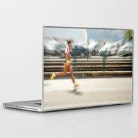 sport Laptop & iPad Skins featuring Sport by Sébastien BOUVIER