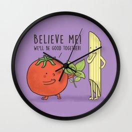 Pasta Lover Wall Clock