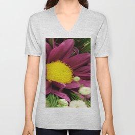 Nestled Bloom Unisex V-Neck