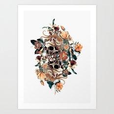 Fantasy Skull Art Print