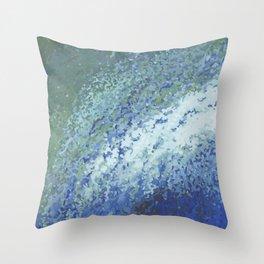 Ocean City Surf Throw Pillow