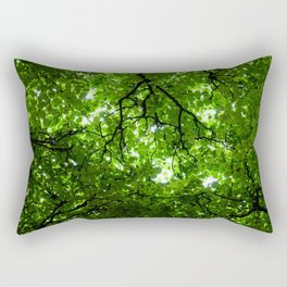 Singapore Sky Rectangular Pillow
